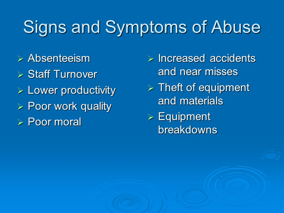 ... Alcohol Abuse at Work - Alcohol Addiction and Substance Abuse