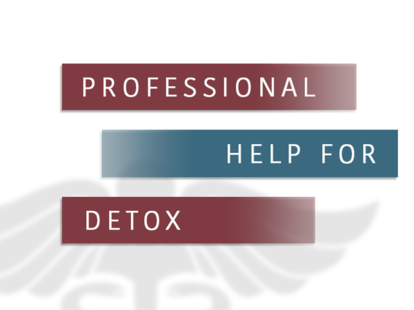 Professional Help For Detox