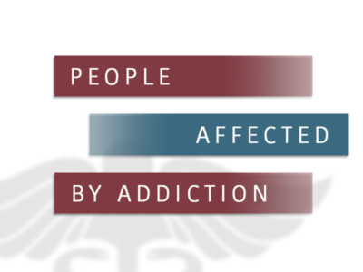 People Affected By Addiction