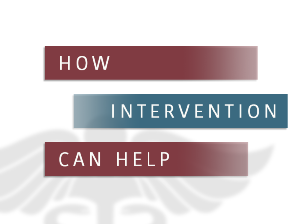 How Intervention Can Help