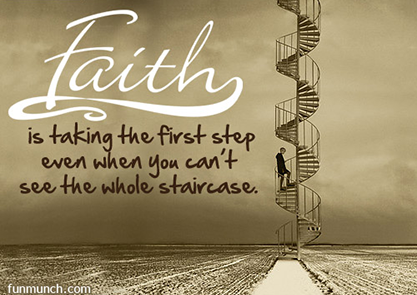 Faith and Fear Quote